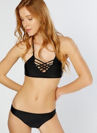 T-Box Bikini Alt Siyah